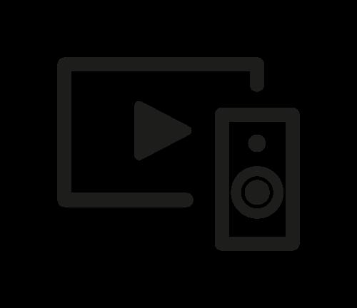 Musique & vidéo picto