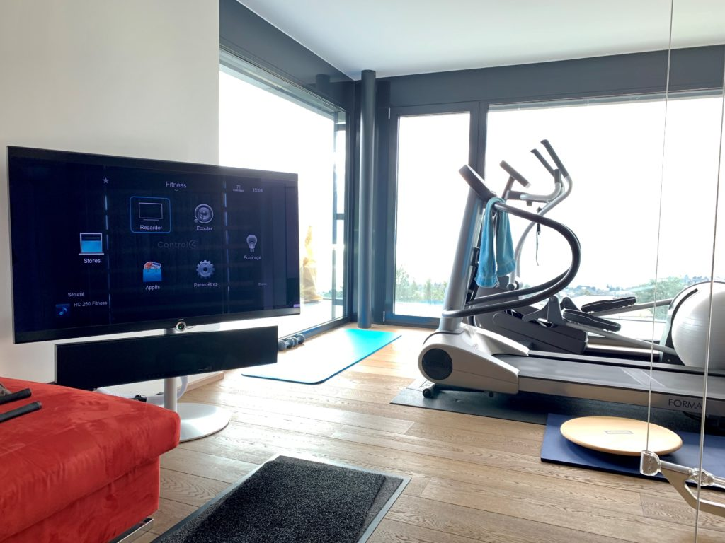 Duplex en attique - fitness