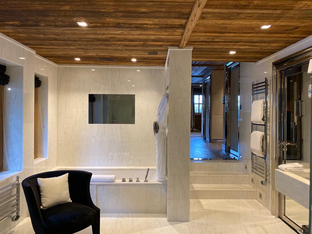Ultima Megève - salle de bain